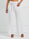 Maxi Slim Belt Plain Casual Pants (Style V200526)
