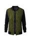 Short Straight Western Patchwork Patchwork Jacket (Style V101280)